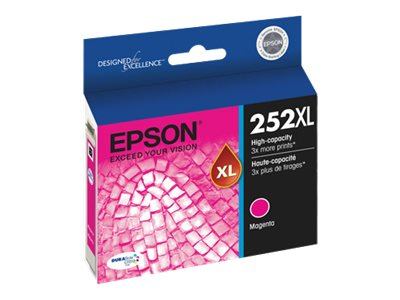 Epson 252XL - XL - magenta - original - ink cartridge