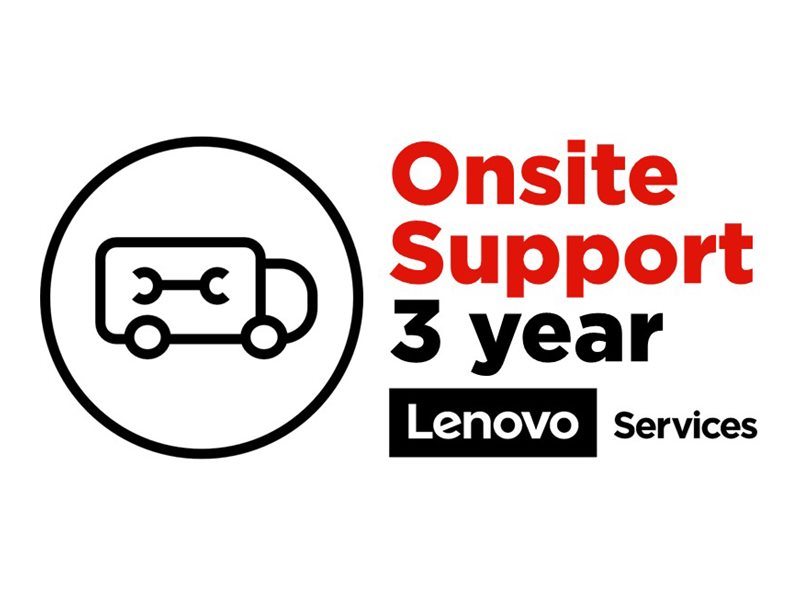 Lenovo Onsite - extended service agreement - 3 years - School Year Term - on-site