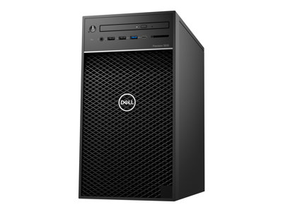Dell Precision 3630 Tower MT 1 x Core i5 8500 / 3 GHz RAM 8 GB HDD 1 TB DVD-Writer
