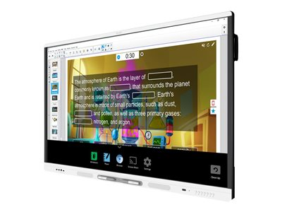 SMART Board MX286 interactive display with iQ 86INCH Class MX Series LED display interactive