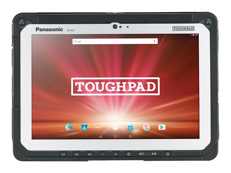 """Panasonic Toughpad FZ-A2 - tablet - Android 6.0.1 (Marshmallow) - 32 GB - 10.1"""" - 4G - AT&T - with Toughbook Preferred …"""