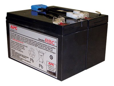 APC Replacement Battery Cartridge #142 - USV-Akku - 1 x Bleisäure 216 Wh - für P/N: SMC1000, SMC1000I