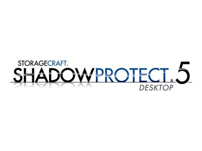 ShadowProtect Desktop (v. 5.x) competitive upgrade license + 1 Year Maintenance 1 server