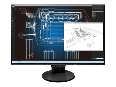 EIZO FlexScan EV2456 LED monitor 24.1INCH 1920 x 1200 IPS 350 cd/m² 1000:1 5 ms