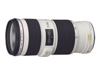 Canon EF - Telephoto zoom lens - 70 mm - 200 mm - f/4.0 L IS USM - Canon EF - for EOS 1000, 1D, 50, 500, 5D, 7D, Kiss F, Kiss X2, Kiss X3, Rebel T1i, Rebel XS, Rebel XSi