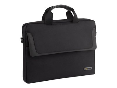SOLO Sterling 100 Slim Brief CLA112 Notebook carrying case 14.1INCH metallic trim