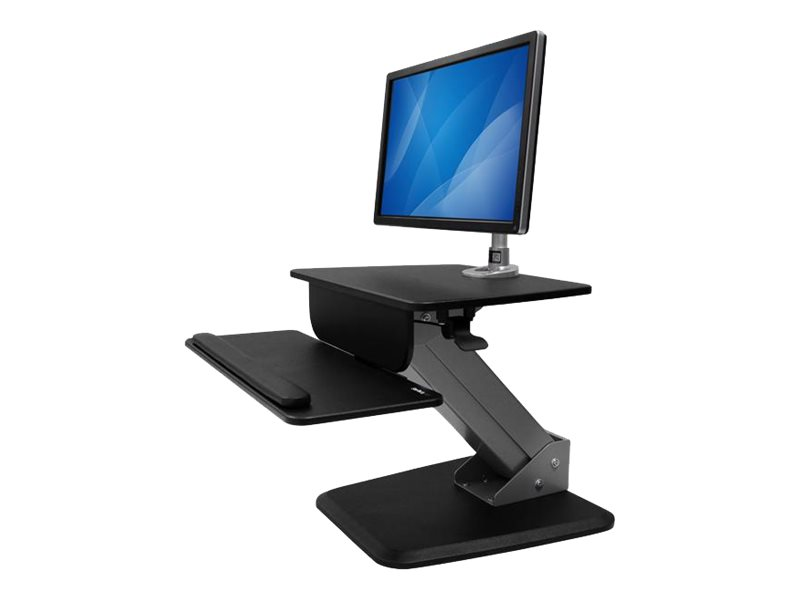 StarTech.com Single Monitor Sit-to-stand Workstation - One-Touch Height Adjustment (BNDSTSPIVOT) - mounting kit