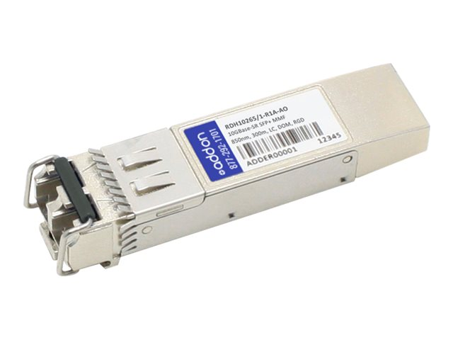 AddOn - SFP+ transceiver module (equivalent to: LG-Ericsson RDH10265/1-R1A) - 10 GigE - 10GBase-SR - LC multi-mode - up to 300 m - 850 nm - TAA Compliant
