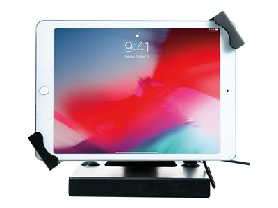 CTA Flat-Folding Tabletop Security Stand Stand for tablet lockable screen size: 7INCH-14INCH