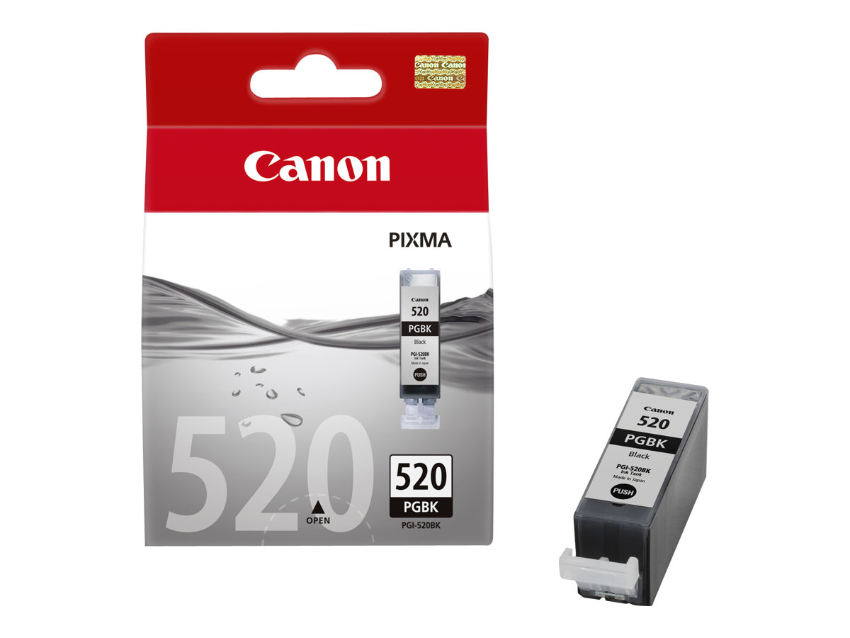 Canon Ink PGI-520 Black (2932B001) VE 1 x 19ml für iP 3600, iP 4600, MP 540,  MP 620, MP 630, MP 980
