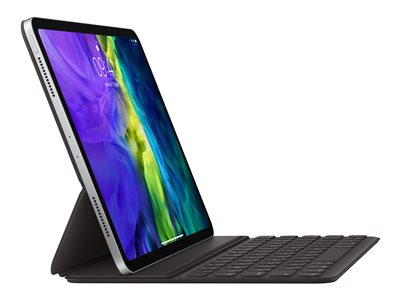 Apple Smart - Keyboard and folio case - Apple Smart connector - AZERTY - French - for 10.9-inch iPad Air (4th generation); 11-inch iPad Pro (1st generation, 2nd generation, 3rd generation)