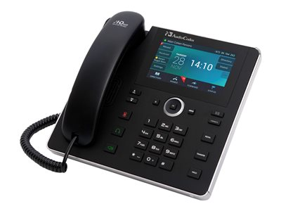AudioCodes 450HD IP Phone VoIP phone SIP, SDP 8 lines black