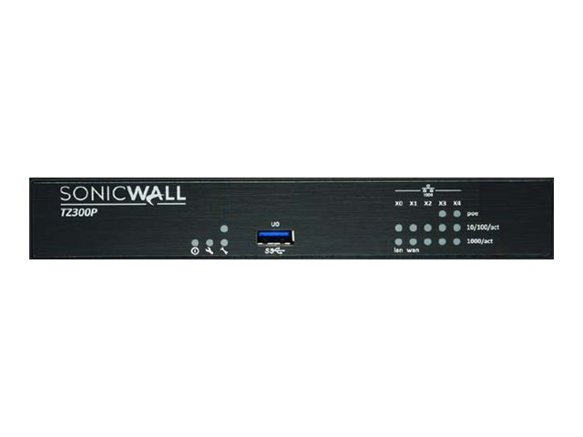SonicWall TZ300P - Advanced Edition - security appliance - with 1 year TotalSecure