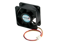 StarTech.com 60x25mm High Air Flow Dual Ball Bearing Computer Case Fan w/ TX3 - System fan kit - 60 mm - for P/N: RMC4450