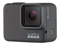 GoPro HERO7 Silver Action camera mountable 4K / 30 fps 10.0 MP Wi-Fi, Bluetooth