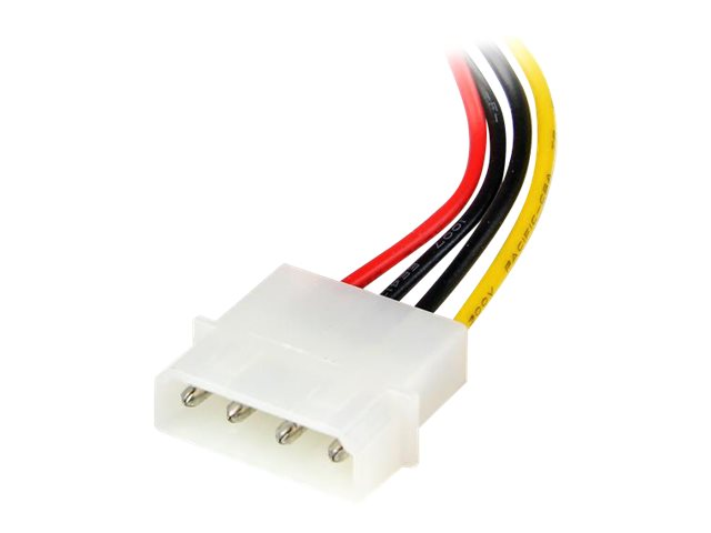 StarTech.com 6in 4 Pin LP4 to Left Angle SATA Power Cable Adapter - LP4 to SATA Power Adapter (SATAPOWADPL)