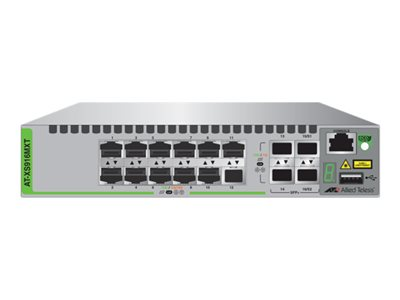 Allied Telesis AT XS916MXT Switch L3 managed 12 x 100/1000/10000 + 4 x 10 Gigabit SFP+