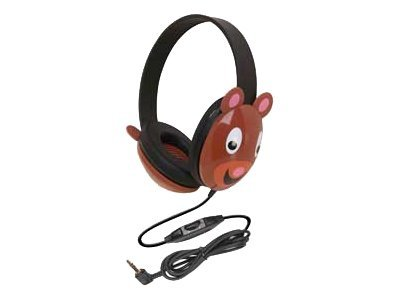 Califone Listening First Stereo Headphone 2810-BE Headphones full size wired 3.