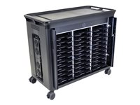 HP 30-Notebook Managed Charging Cart - Chariot pour 30 ordinateurs portables
