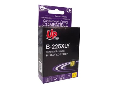 compatibles Brother  Brother LC225XL - compatible UPrint B.225XLY - jaune  - cartouche d'encre