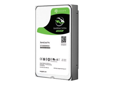 Seagate Barracuda Pro Hard drive 10 TB internal 3.5INCH SATA 6Gb/s 7200 rpm