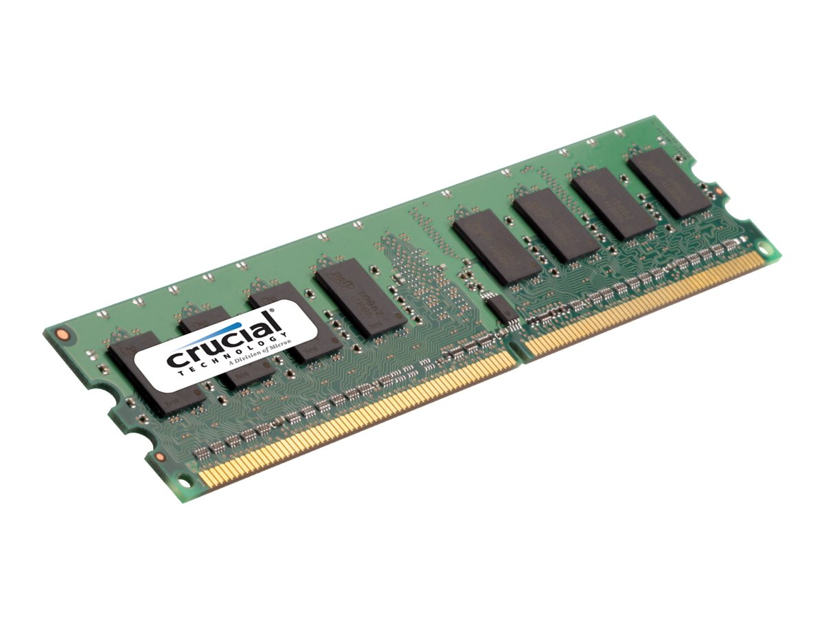Crucial - DDR2 - 1 GB - DIMM 240-PIN - 667 MHz / PC2-5300 - CL5
