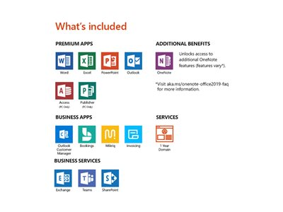 Microsoft Office 365 Business Premium - box pack (1 year) - 1 person
