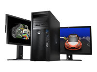 HP Workstation Z420 - CMT - 1 x Xeon E5-2665 / 2.4 GHz - RAM 16 GB - HDD 500 GB - DVD SuperMulti - NVS 300 - GigE - Win 7 Pro 64-bit - vPro - monitor: none