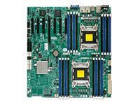 SUPERMICRO X9DRH-IF - motherboard - extended ATX - LGA2011 Socket - C602