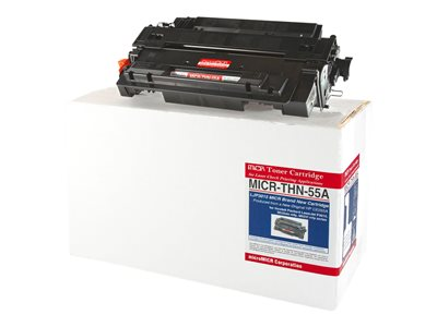 microMICR THN-55A Black MICR toner cartridge (alternative for: HP CE255A)