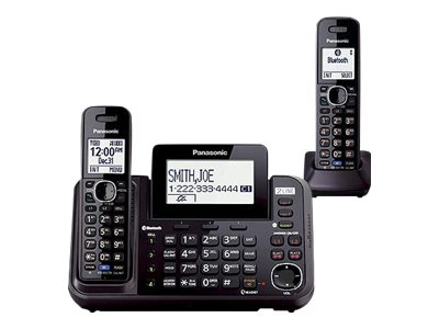 Panasonic KX-TG9552 - corded/cordless - answering system - with Bluetooth interface with caller ID/call waiting + 2 add…
