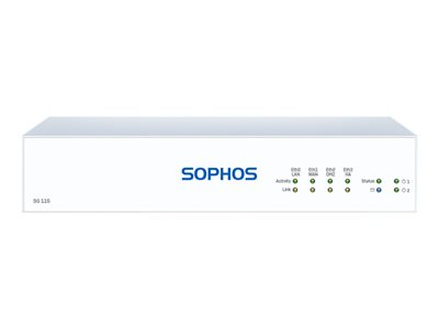 Sophos SG 115 Rev 3 security appliance GigE desktop