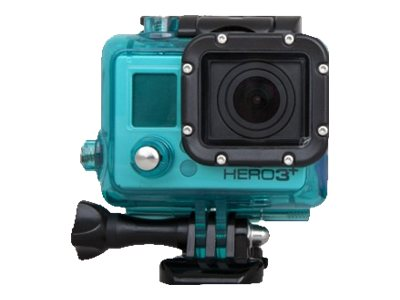 Urban Factory Waterproof Case Blue: for GoPro Hero3 and 3+ - marine case for camera