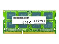 2-Power - DDR3 - 4 GB - SO-DIMM 204-pin - 1600 MHz / PC3-12800 - CL11 - unbuffered - non-ECC - for HP TouchSmart 610