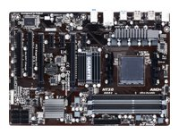 Gigabyte GA-970A-DS3P - 1.0 - motherboard - ATX - Socket AM3+ - AMD 970 - USB 3.0 - Gigabit LAN - HD Audio (8-channel)