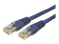 StarTech.com 35 ft Blue Cat6 / Cat 6 Molded Patch Cable 35ft - Cordon de raccordement - RJ-45 (M) pour RJ-45 (M) - 10.7 m - UTP - CAT 6 - moule - bleu - pour P/N: PM1115UMF