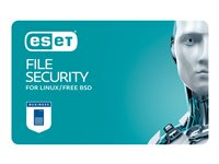ESET File Security for Linux / BSD / Solaris Subscription license (3 years) 1 user volume