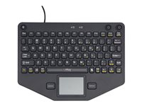 iKey SL-80-TP Keyboard with touchpad, mouse buttons backlit USB US