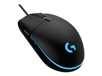 Logitech Gaming Mouse G203 Prodigy Optisk Kabling Sort
