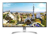 LG 32UD99-W LED monitor 32INCH (31.5INCH viewable) 3840 x 2160 4K AH-IPS 550 cd/m² 5 ms