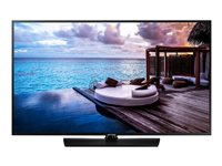 "Samsung HG55EJ690UB - 55"" Class HJ690U Series LED TV - hotel / hospitality - Smart TV - 4K UHD (2160p) 3840 x 2160 - HDR - charcoal black"