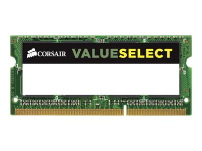CORSAIR Value Select DDR3L  8GB 1333MHz CL9  Ikke-ECC SO-DIMM  204-PIN