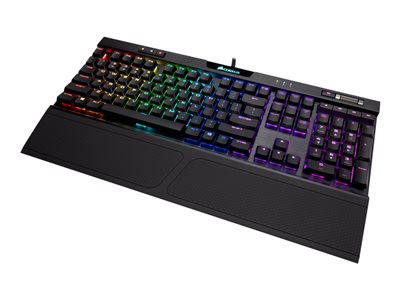 CORSAIR Gaming K70 RGB MK.2 Low Profile Mechanical Tastatur Mekanisk RGB Kabling Nordisk