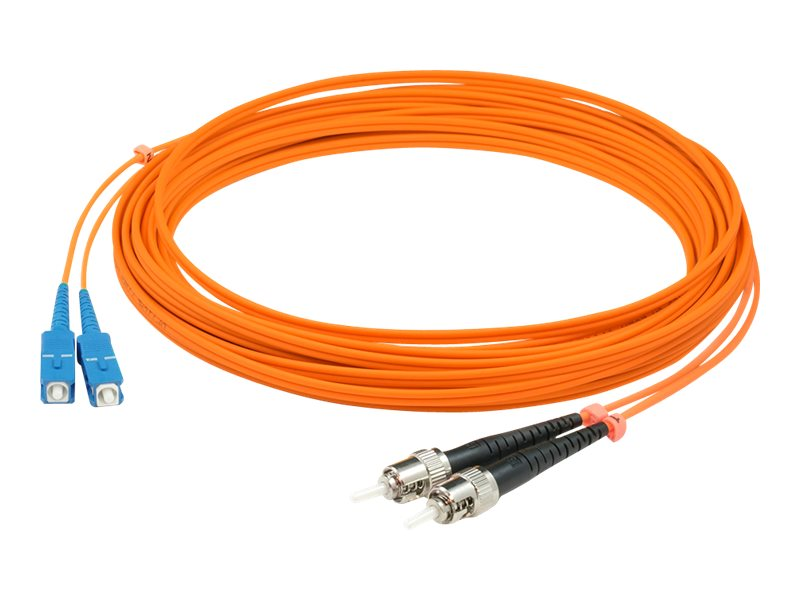 AddOn 1m SC to ST OM1 Orange Patch Cable - patch cable - 1 m