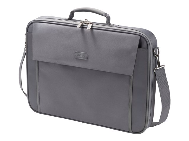 "DICOTA Multi BASE Laptop Bag 15.6"" - Sacoche pour ordinateur portable - 15.6"" - gris"