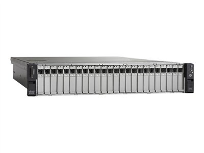 Cisco UCS C240 M3 High-Density Rack-Mount Server Small Form Factor Server rack-mountable 2U