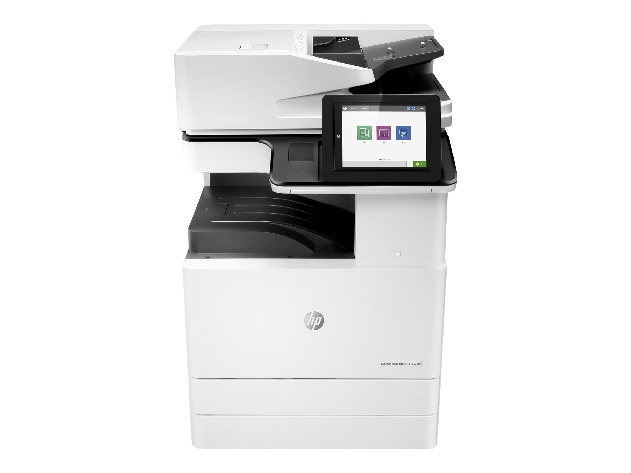 Copieur Color LaserJet Managed MFP HP E77822dn - vitesse 22ppm vue avant
