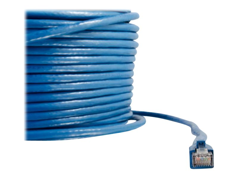 C2G 200ft Cat6 Snagless Solid Shielded Ethernet Network Patch Cable - Blue - patch cable - 60.96 m - blue
