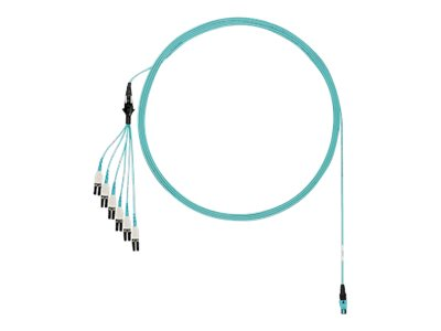 Panduit network cable - 10.1 m - aqua
