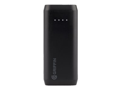 Griffin Reserve Power bank 5200 mAh 10 Watt 2.1 A (USB) on cable: Micro-USB black